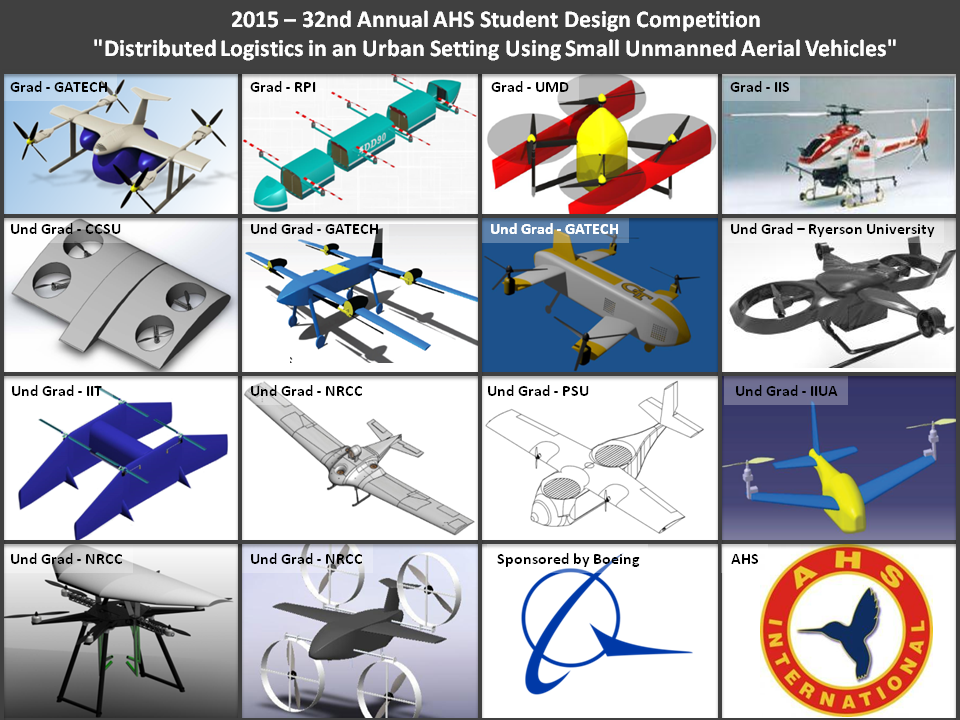 2015 Student Design Summary