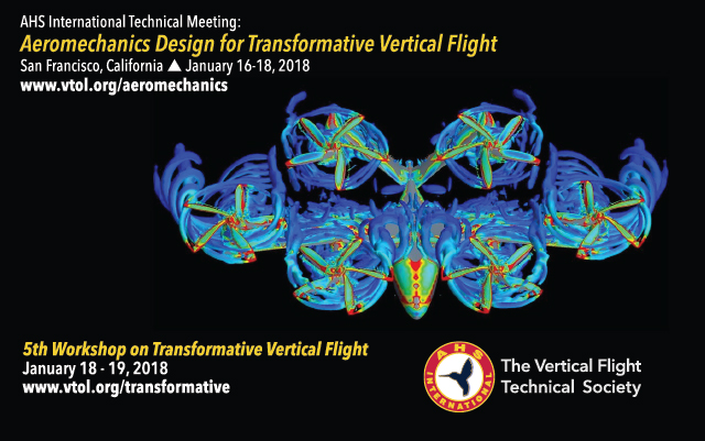 AHS Transformative Vertical Flight conference 2018 banner ad