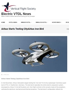 eVTOL screenshot
