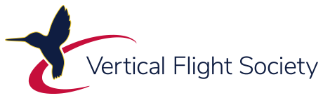 Vertical Flight Society Logo, linear small PNG
