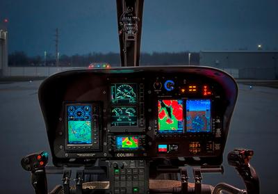 Airbus EC120B with Garmin G500H cockpit