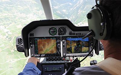 Bell 407GX cockpit (Bell photo)