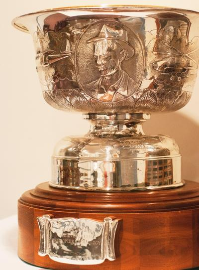 Howard Hughes Trophy (Rachel Brigner Photography)