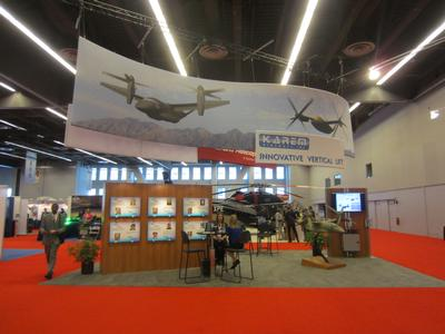Karem Aircraft's Forum 70 Exhibit