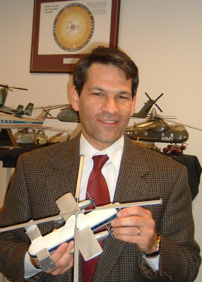 Hirschberg in 2005 with the V/STOL Wheel