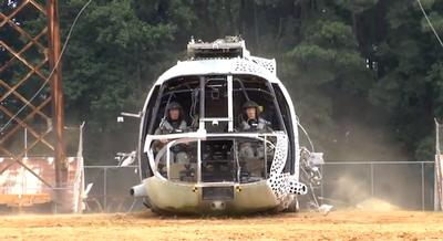 NASA CH-46 crash test