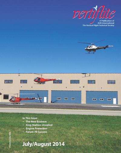 Vertiflite, July-August 2014 cover