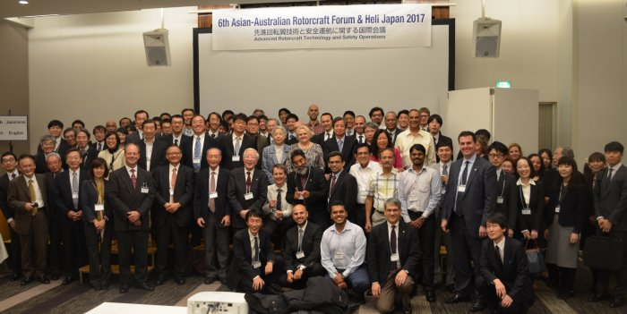 Asian-Australian Rotorcraft Forum 2017 in Japan