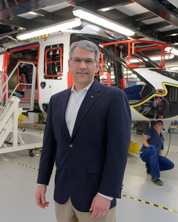 Mike Hirschberg (Vertical Flight Society: Executive Director