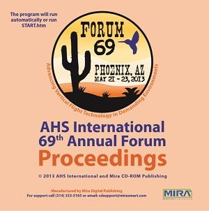 Forum 69 Proceedings CD-ROM