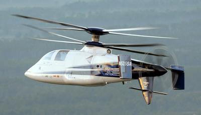Sikorsky X2 in flight