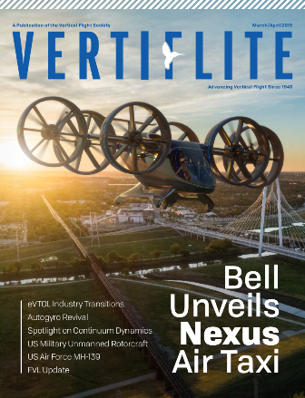 Vertiflite cover March/April 2019