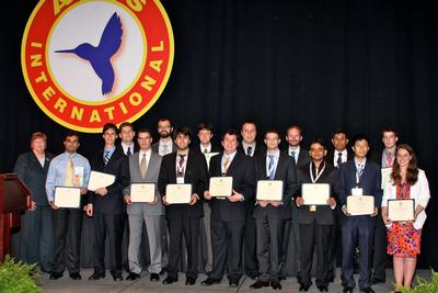 VFF winners at Forum 68, May 2, 2012