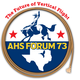 Forum 73 logo with theme